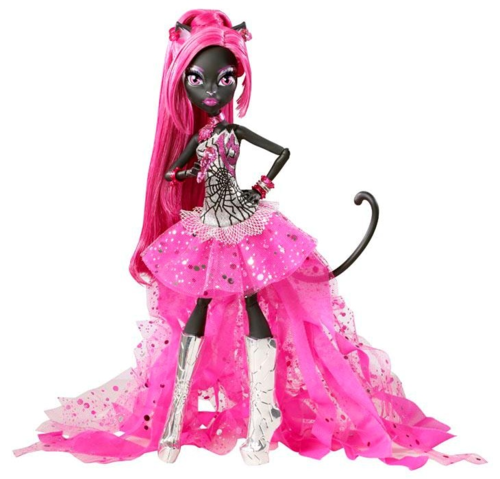Monster High hình nền possibly with a áo của đàn bà, polonaise and a kirtle titled Catty Noir - credit