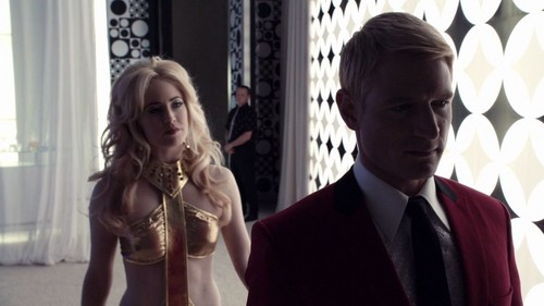 charlotte Sullivan achtergrond possibly containing a business suit entitled charlotte Sullivan as Duchess in ALICE