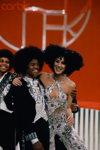 "Cher And Michael Jackson Back In The ""'70's"""