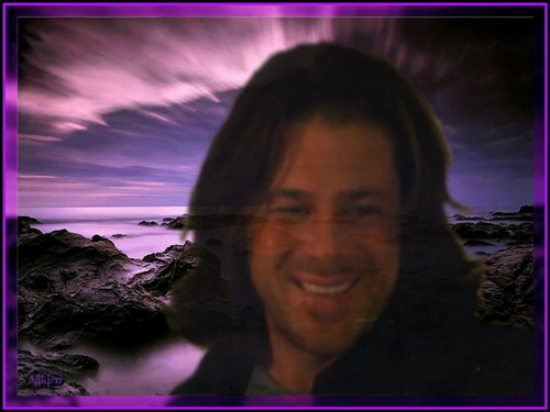 Christian Kane kertas dinding possibly with a sunset and a portrait titled Christian