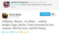 Chrucy Tweets - chris-zylka-and-lucy-hale photo