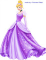 Cinderella's new look (purple) special!! - disney-princess photo