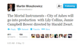 City of Ashes is going to be made into a film! - mortal-instruments photo
