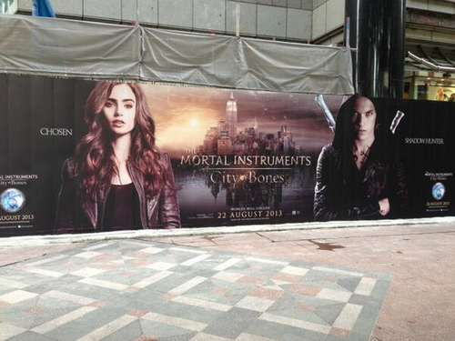 City of Bones Display in Singapore