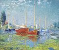 Claude Monet - Argenteuil. Yachts, 1875  - fine-art photo