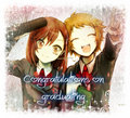 Congratulations on gradutating - anime fan art