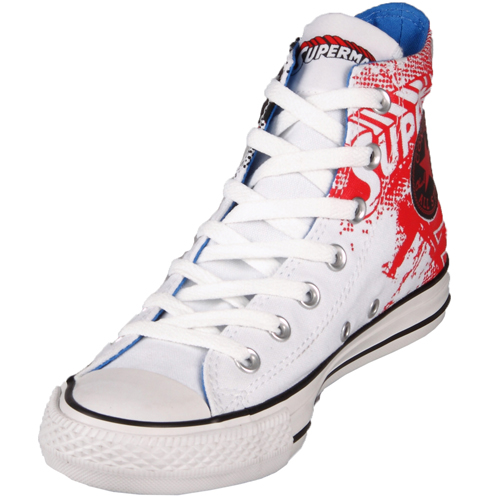 Converse Chuck Taylor 119938 DC Comics Canvas Print Superman Hi سب, سب سے اوپر