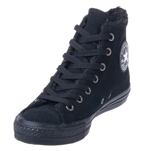 Converse Chuck Taylor 125596C Leather Black/Black Hi سب, سب سے اوپر
