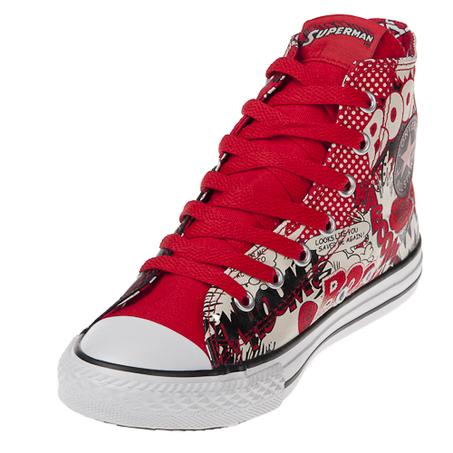 Converse Chuck Taylor 322150 Youth SUPERMAN Print Hi سب, سب سے اوپر