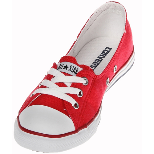 Converse Chuck Taylor 522251 Dance lace Red/White Low bahagian, atas