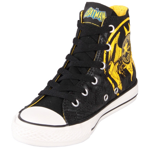 Converse Kids Chuck Taylor 319939 DC Comics Canvas Print Batman Hi سب, سب سے اوپر