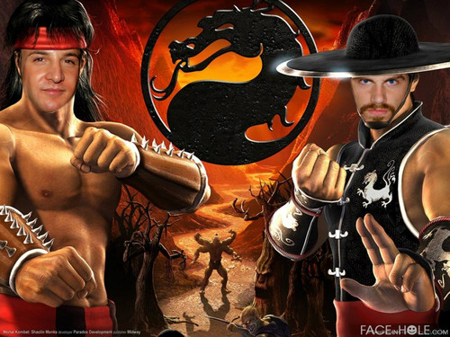 Cory and Shawn in Mortal Kombat