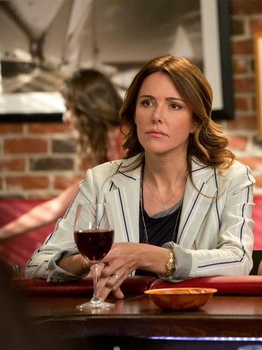 Christa Miller wallpaper with a brasserie, a dinner table, and a dinner called Cougar town