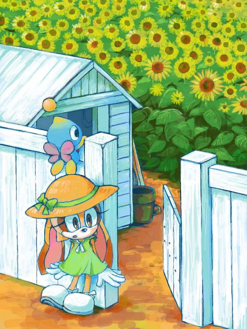 Cream Sonic The Hedgehog Fan Art 34463828 Fanpop