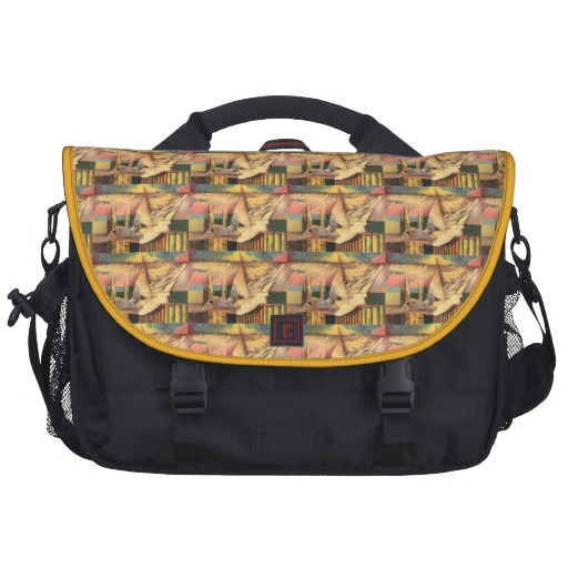 Customized Rickshaw Commuter Laptop Bag