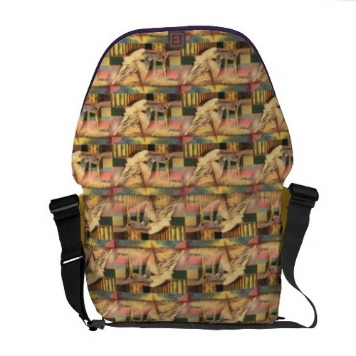 Handbags wallpaper called Customized Rickshaw mosaico Bag