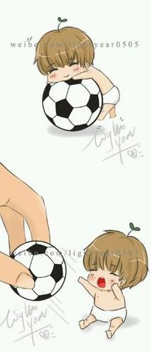 Cute Taemin tagahanga Art