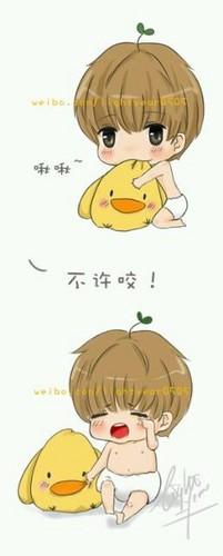 Cute Taemin shabiki Art
