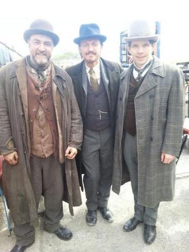 Damien Molony on Ripper سٹریٹ, گلی Series 2
