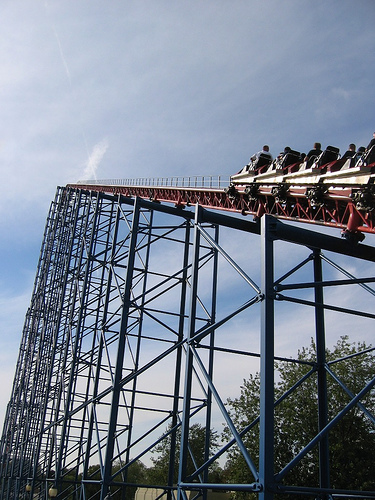 Darien Lake Superman: Ride of Steel
