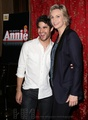 Darren Criss attends 'Annie:The Musical' - darren-criss photo