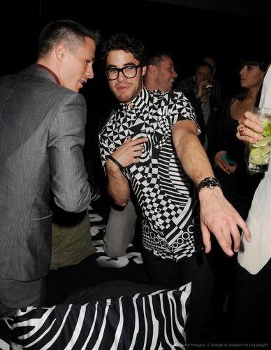 Darren Criss attends the Versus Versace launch
