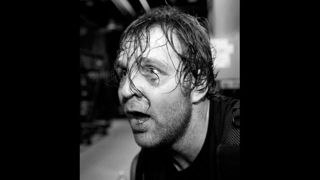 Dean Ambrose's Eye Injury