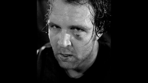 wwe wallpaper called Dean Ambrose's Eye Injury