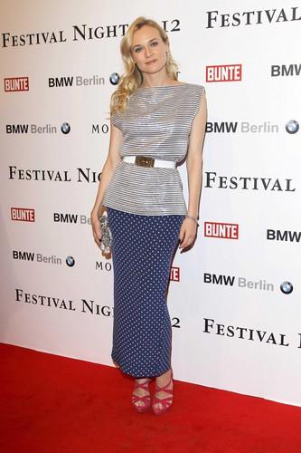 Diane Kruger 62nd BFFestival Night