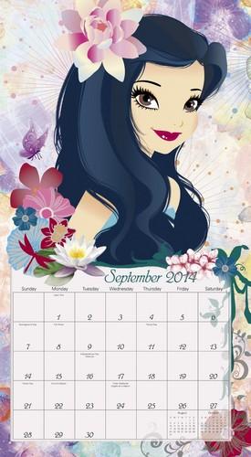 Disney Fairies 2014 Calendar