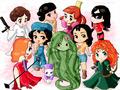 디즈니 Heroines