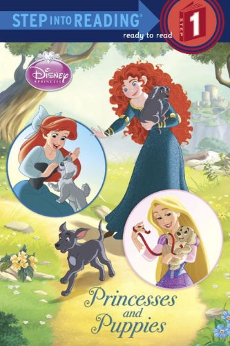 Disney Princess Books with Merida