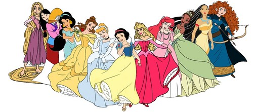 disney Princess Lineup