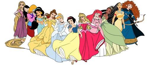 डिज़्नी Princess Lineup