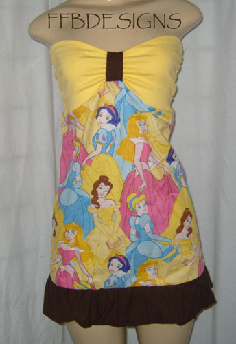 Disney princess mini dress