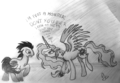 Don't you look at me! - my-little-pony-friendship-is-magic fan art