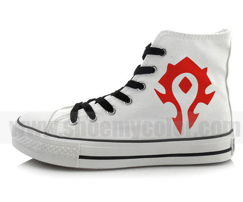 Dota For The Horde canvas sneakers