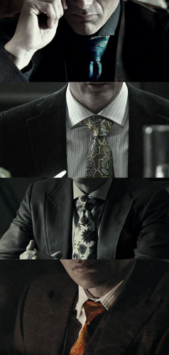Dr. Lecter's ties from Entrée