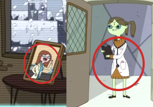 Dr. Princess might be ice king's girlfriend betty