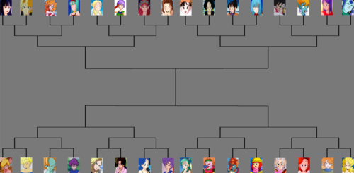 Dragon ball female tournament
