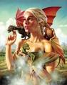 Dany with Драконы