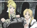 Ed & Winry - edward-elric-and-winry-rockbell wallpaper