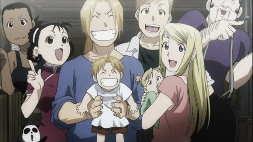 Edward Elric and Winry Rockbell karatasi la kupamba ukuta possibly containing anime titled Ed & Winry