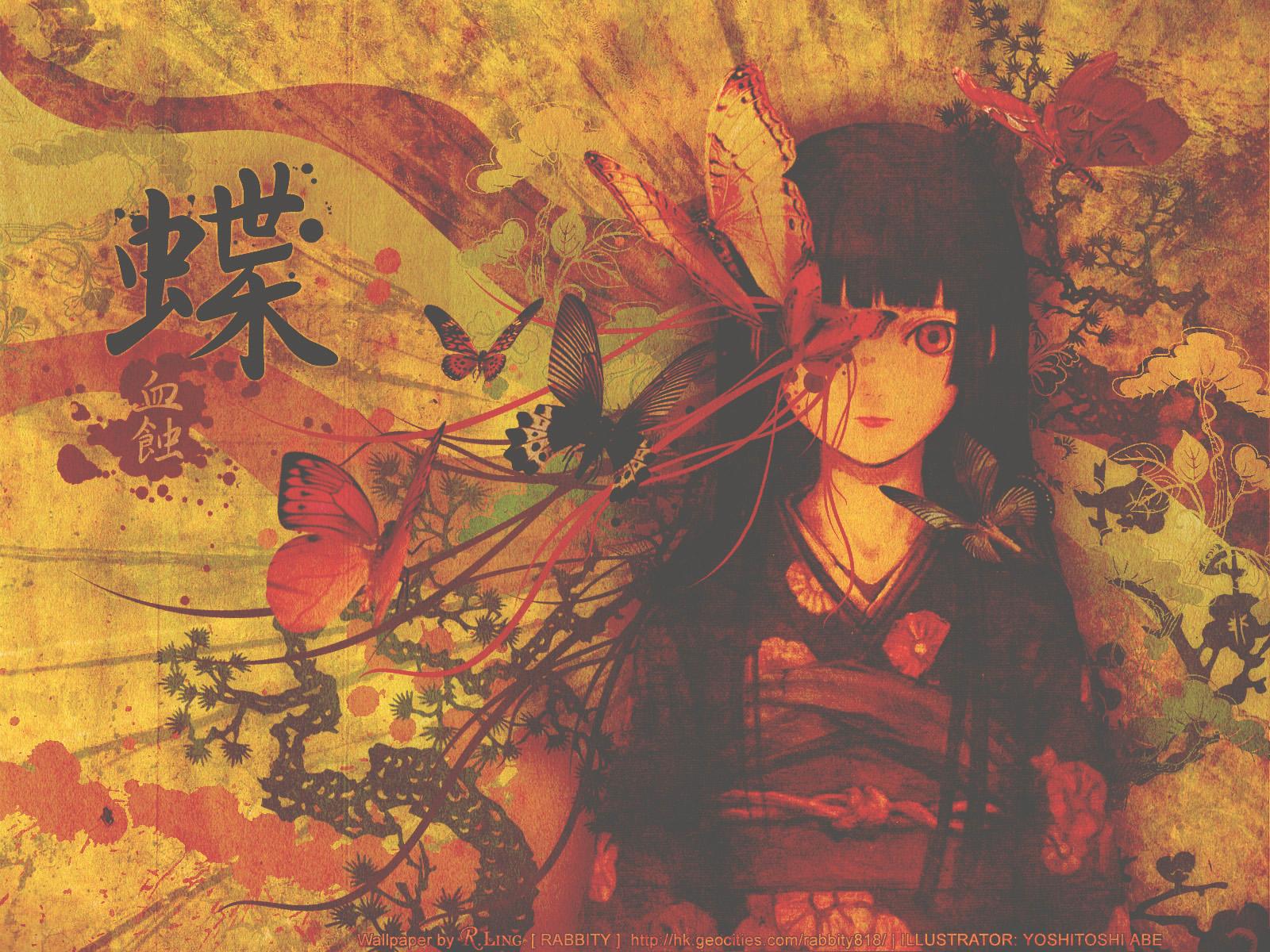 Enma Ai Jigoku Shoujo Girl From Hell Wallpaper 34421907