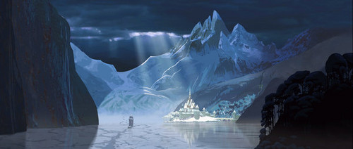 "Exclusive concept art from Walt 디즈니 애니메이션 Studios' upcoming movie ""Frozen."""