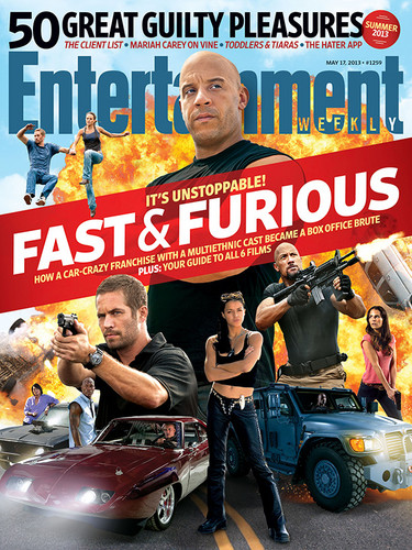 F&F Entertainment Weekly Cover - May 17, 2013