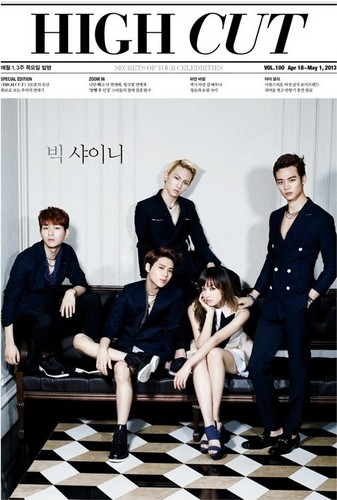 f(x) Victoria and SHINee get classy and sexy for 'High Cut'