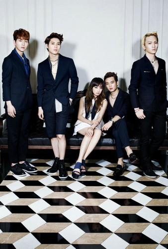 এফ(এক্স) Victoria and SHINee get classy and sexy for 'High Cut'