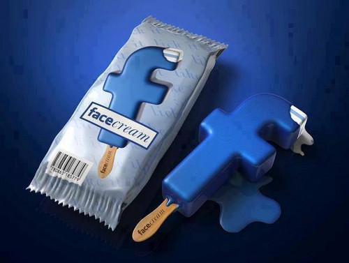 Facebook wallpaper entitled Facebook ice cream??