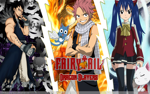 Fairy Tail-Dragon Slayers